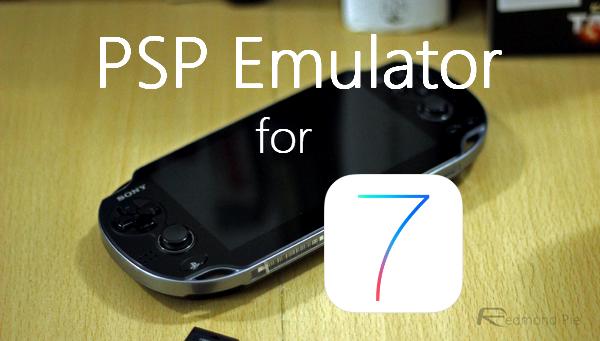psp emulator for iphone 7