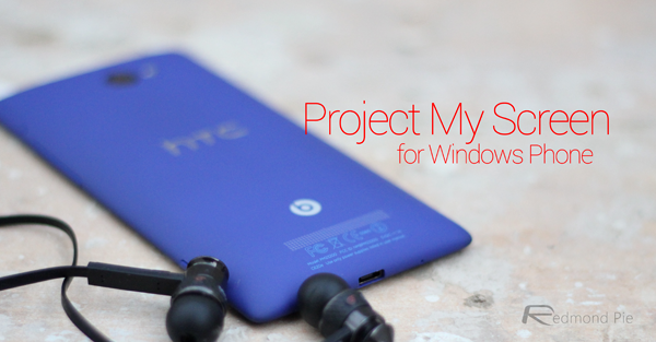 Project My Screen Windows Phone main