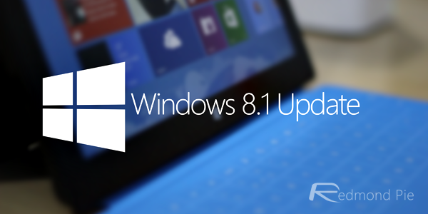 Windows 81 update header