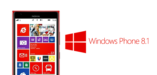 Windows Phone 81 header