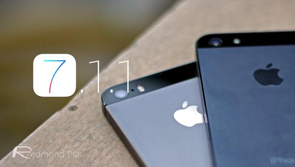 iOS 711 iPhone