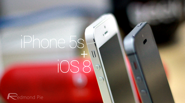 iOS 8 iPhone 5s