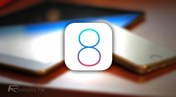 iOS 8 main