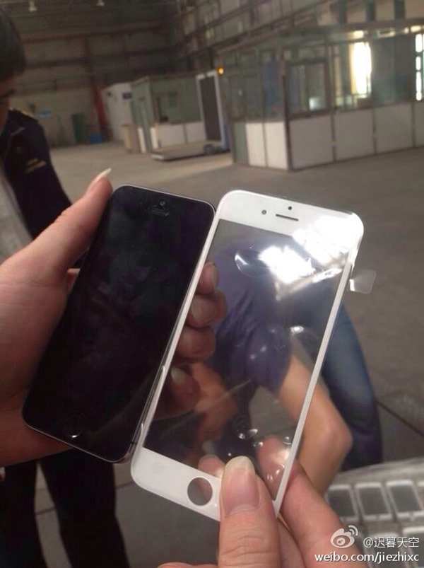 iPhone 6 front panel leak