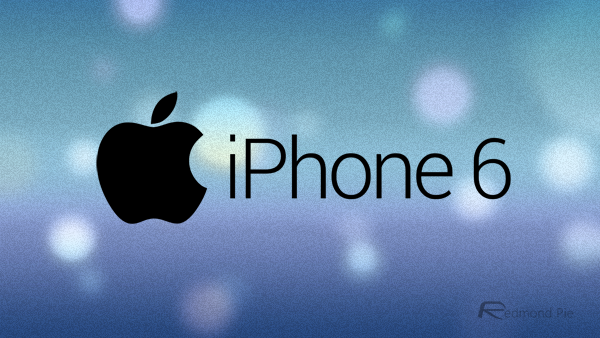 iPhone 6 logo blue