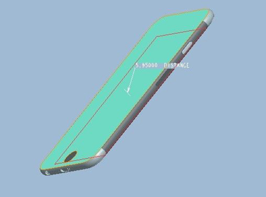 iPhone 6 3D schem 1