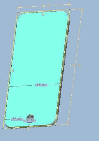 iPhone 6 3D schem 2