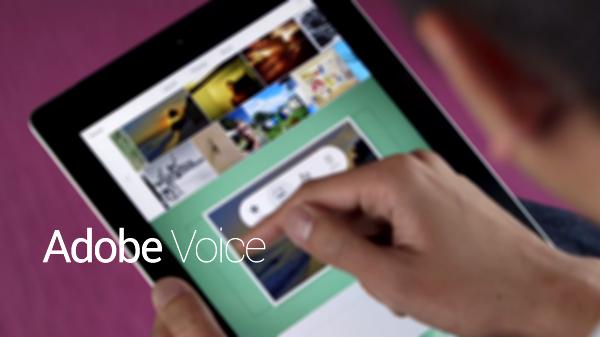 Adobe Voice main