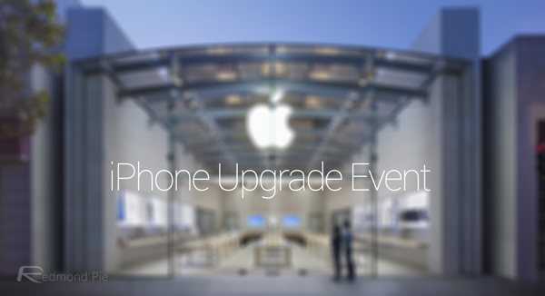 Apple iPhone Upgrade Event