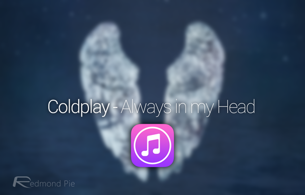 Coldplay Always in my head
