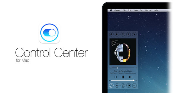 Control Center for Mac