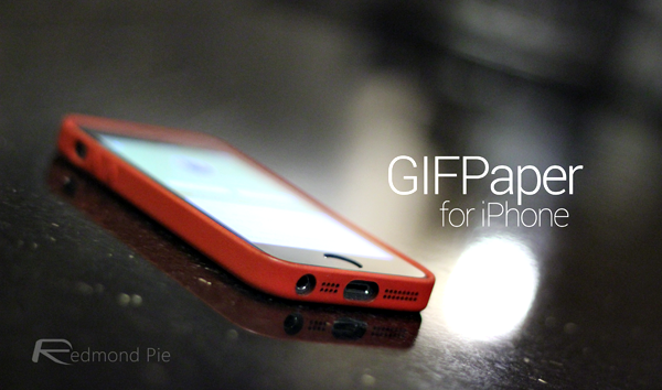 How to set animated gif as wallpaper on iphone running ios 7 gifpaper main voltagebd Choice Image