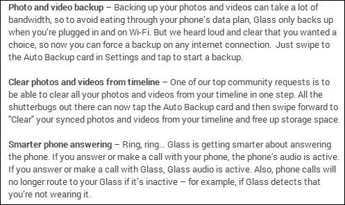Glass update 2