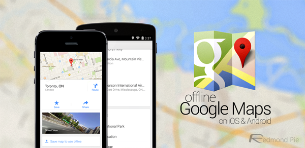 Google Maps On Android, iOS Adds Full Offline Support For ... on google chrome search, google sync android, google maps android icon, city maps 2go android, google docs offline android,