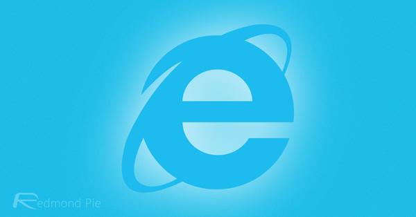 Internet Explorer main