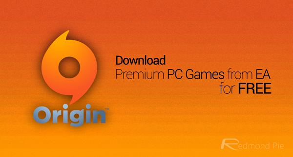 Origin free games main