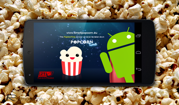 Pocorn Time Android main