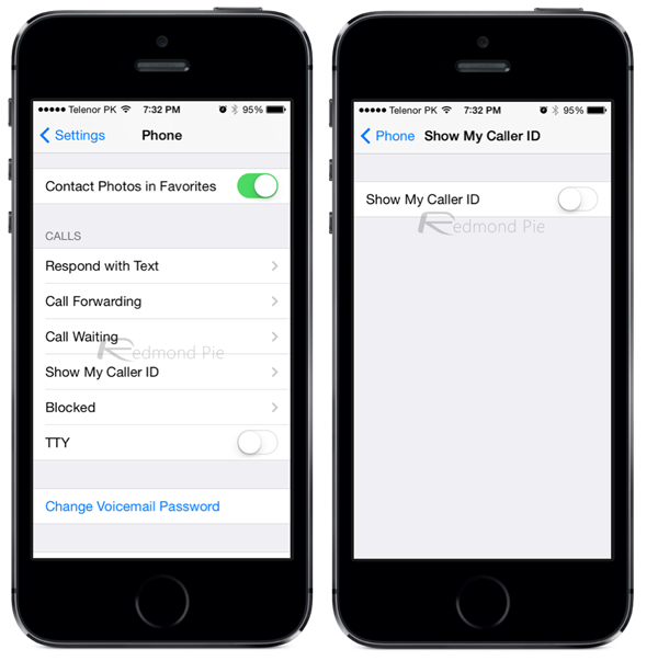 can you block no caller id on iphone how to disable block caller id number on iphone 20649