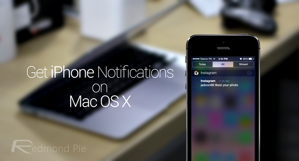 iOS notifications on OS X