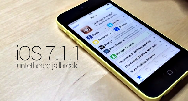 iPhone 5c Jailbreak iOS 711