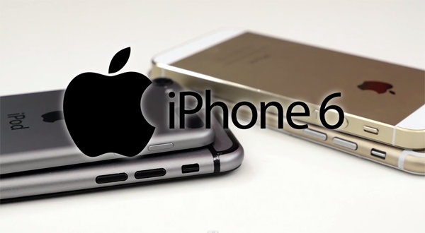 iPhone 6 gold comparison