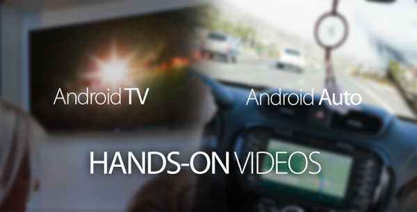 Android TV Android Auto hands on