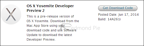Developer Preview 2 Mac Dev