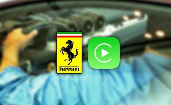 Ferrari CarPlay logo