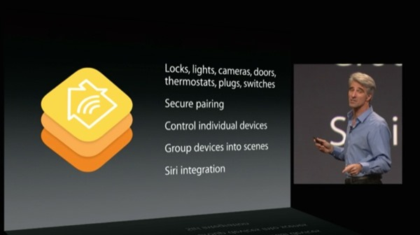 HomeKit keynote