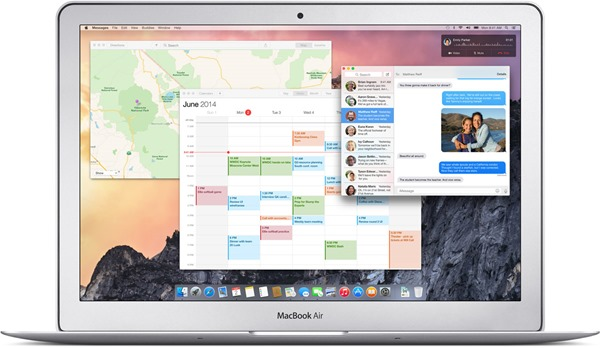 OS X Yosemite main