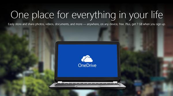 OneDrive main
