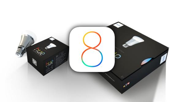 Philips hue iOS 8