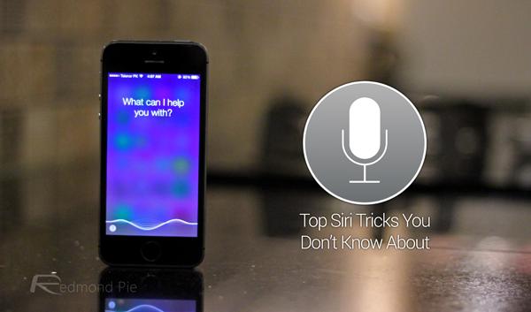 Siri tricks