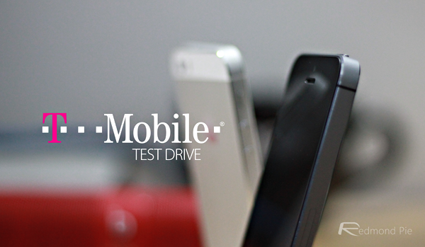 Tmobile test drive main