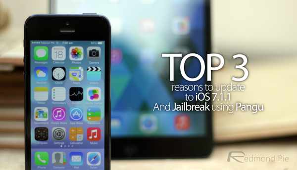 Top 3 reasons to jailbreak