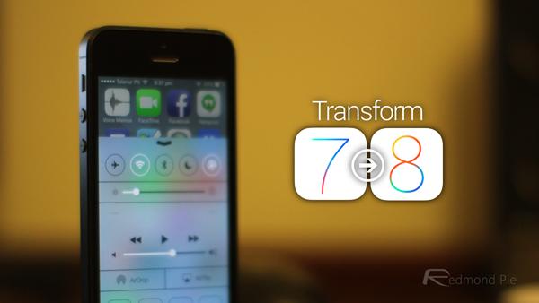 Transform iOS 7 to iOS 8