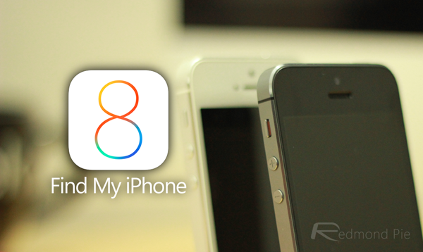 iOS 8 Find my iPhone 1