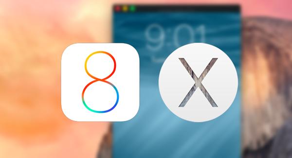 iOS 8 OS X Screencast