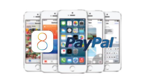 iOS 8 PayPal