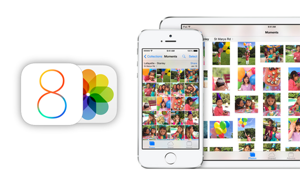 iOS 8 Photos main