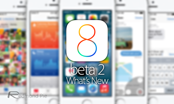 iOS 8 beta 2 whats new