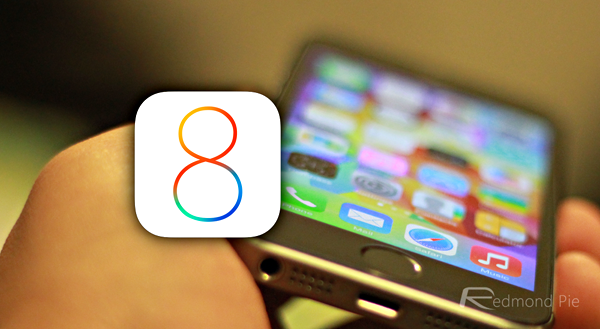 iOS 8 iPhone