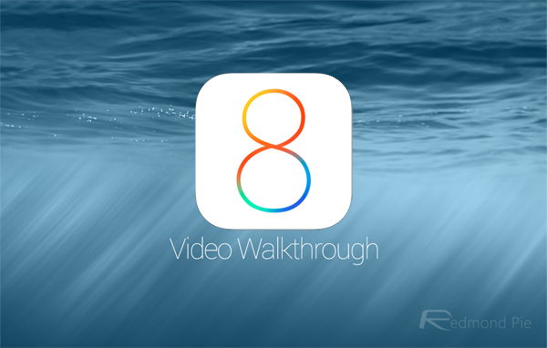iOS 8 video walkthrough