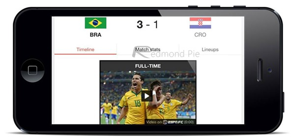 iOS worldcup