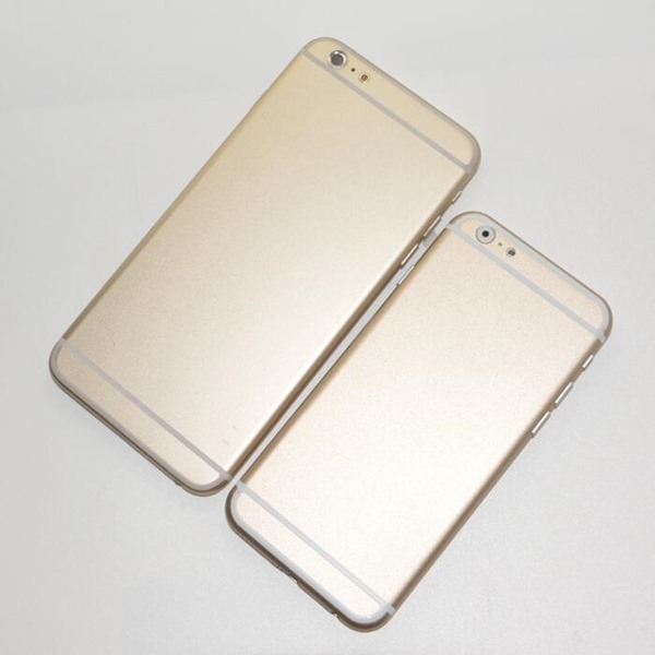 iPhone 6 rear gold