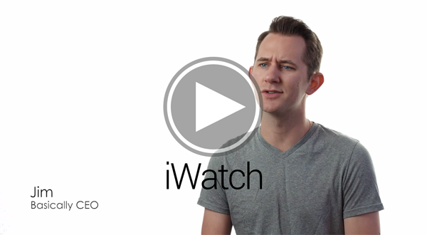 iWatch parody video