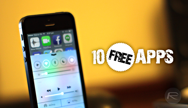10 free apps iOS