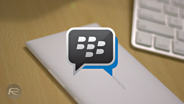 BBM Windows Phone main