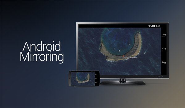 Chromecast mirroring main