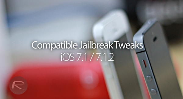 Compatible tweaks ios 712 main